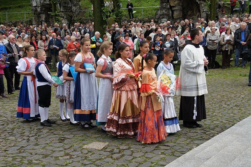 Pielgrzymka Mniejszości Narodowych na Górę Świętej Anny