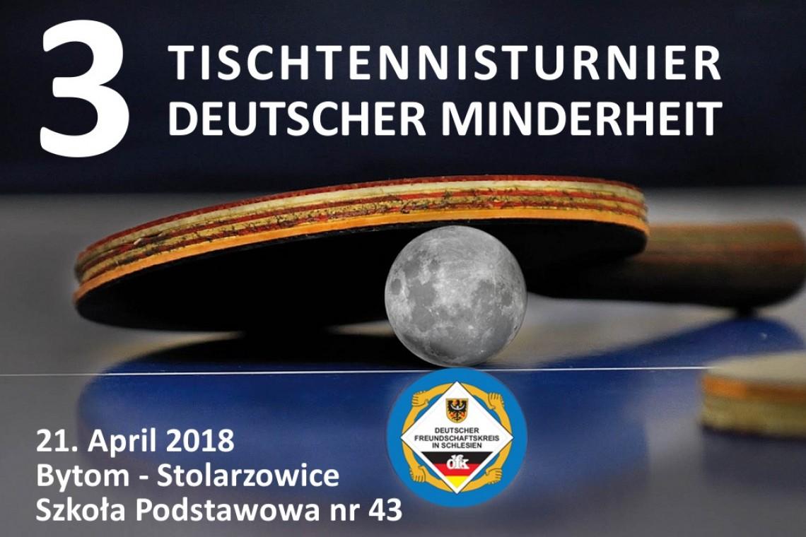 III Turniej Tenisa Stołowego Mniejszości Niemieckiej