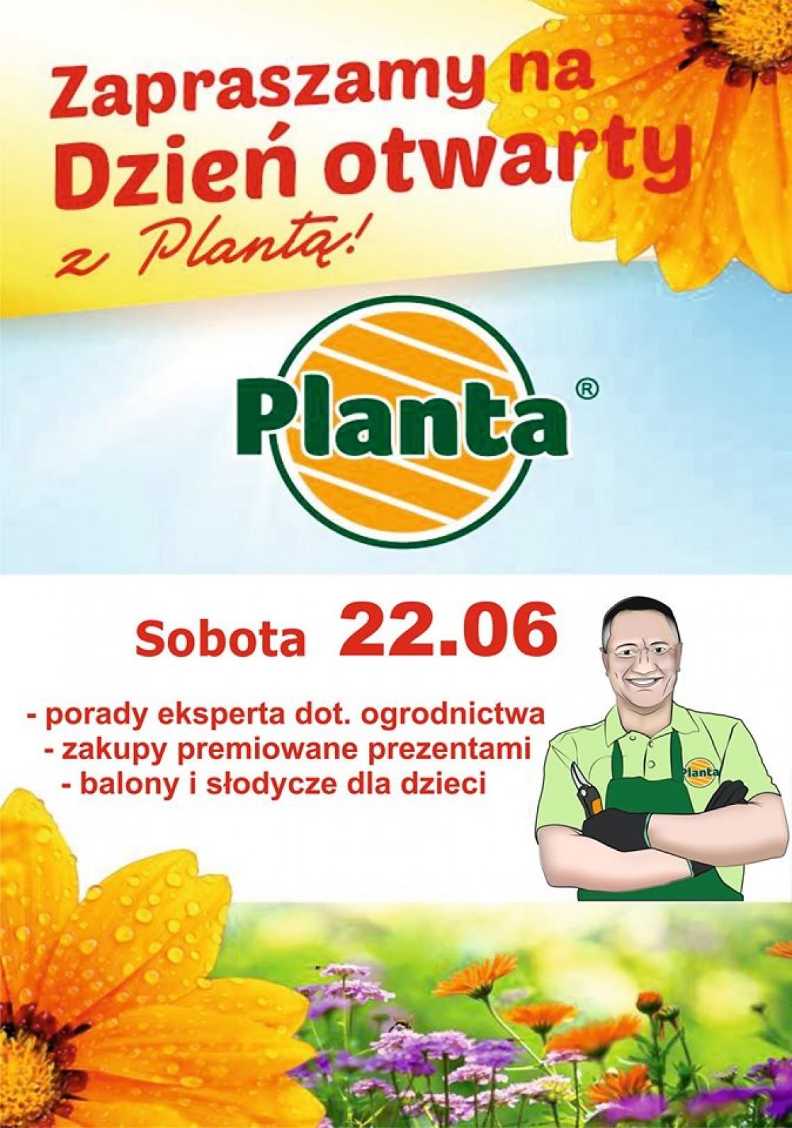 Dzień otwarty z Plantą!