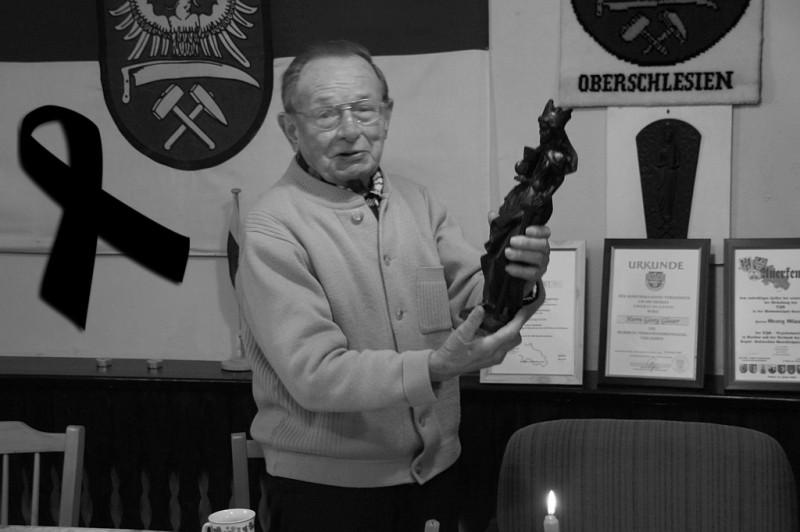 Z przykrością informujemy, że zmarł nasz długoletni Przewodniczący, pan Georg Glauer. Pogrzeb odbędzie się w poniedziałek 19 listopada o godz. 8.45 w Stolarzowicach. Zapraszamy do wspólnej modlitwy w intencji zmarłego Georga Glauer.