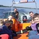 ćwiczenia na zalewie Plawniowice
