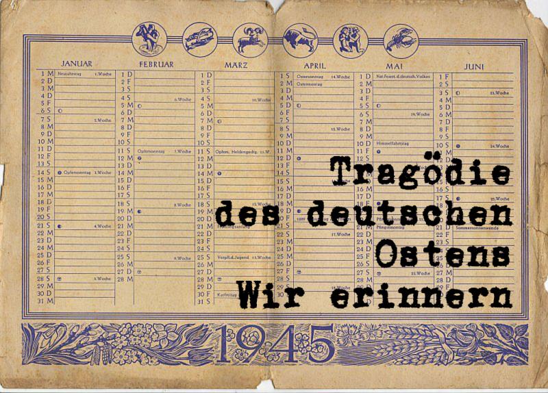 75 rocznica Tragedii Górnośląskiej to także 75 rocznica całego niemieckiego Wschodu