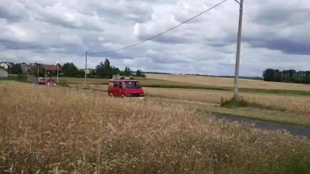 OSP powiatu OLE - Parada czerwoności na X Fire Truck Show...