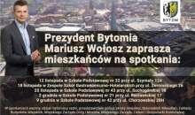 Prezydent Mariusz Wołosz zaprasza na spotkanie